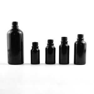 5ml 15ml 20ml 30ml 50ml 100m 黑色料精油瓶
