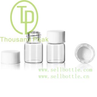 TP-1-02 1.5ml 透明螺口瓶配13牙盖子