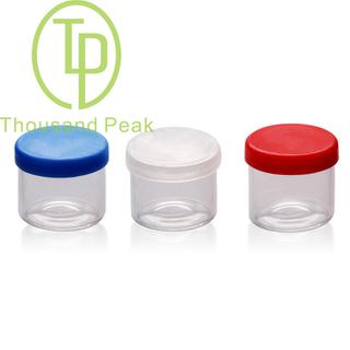 TP-1-72 4ml 6ml 8ml 10ml 透明玻璃罐 适合存储 油 蜡 大麻
