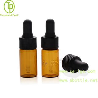TP-2-08 2ml 3ml 5ml 棕色透明滴管试剂瓶 快速诊断试剂瓶